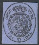 Spain O8 Unused/Hinged